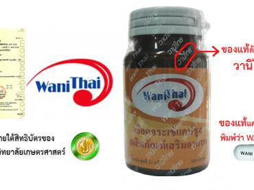อาหารเสริมแคปซูลเลือดจระเข้ วานิไทย สิทธิบัตร มหาวิทยาลัยเกษตรศาสตร์ บางเขน